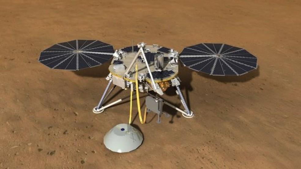 A missão InSight, da Nasa, vai monitorar os Marsquakes, que seriam os terremotos de Marte  (Foto: iStock)
