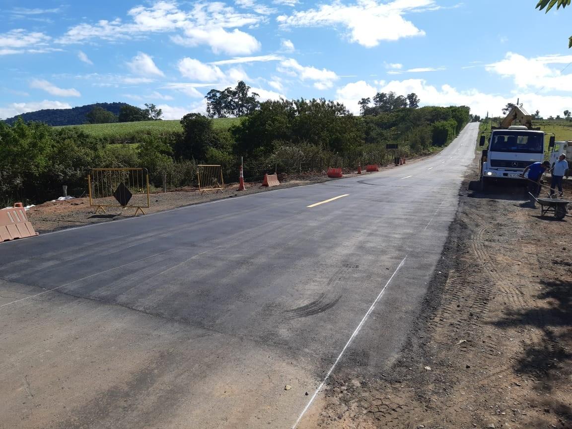 Recuperação da estrada Piracicaba-Anhumas é concluída