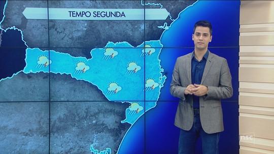 Último dia do verão é de tempo instável em Santa Catarina
