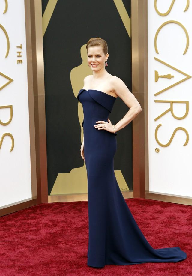 Amy Adams de Gucci no Oscar de 2014 (Foto: Getty Images)