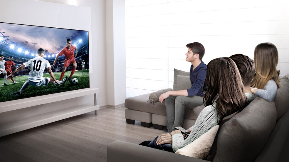 Tamanho ideal da TV para o seu espaço garante uma experiência de uso superior — Foto: Divulgação/LG
