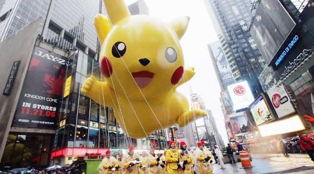 Pikachu, Pokémon, Pokemon Go (Foto: Stephen Chernin/Getty Images)