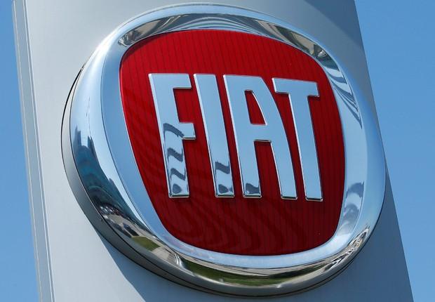 Logo da montadora Fiat (Foto: Heinz-Peter Bader/Reuters)
