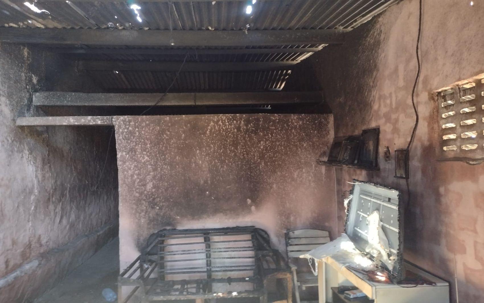 Idosa morre durante incêndio em São Cristóvão