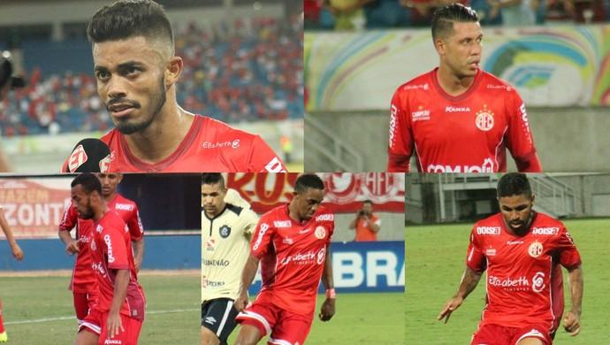 América-RN - cinco jogadores dispensados - Gustavo - João Paulo - Diego Silva - Alex Henrique - Romarinho (Foto: Canindé Pereira/América FC/ Divulgação)