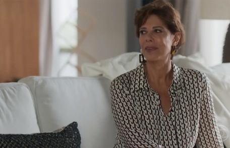 Vera (Angela Vieira) abrirá um curso para ajudar mulheres maduras a voltarem ao mercado de trabalho TV Globo