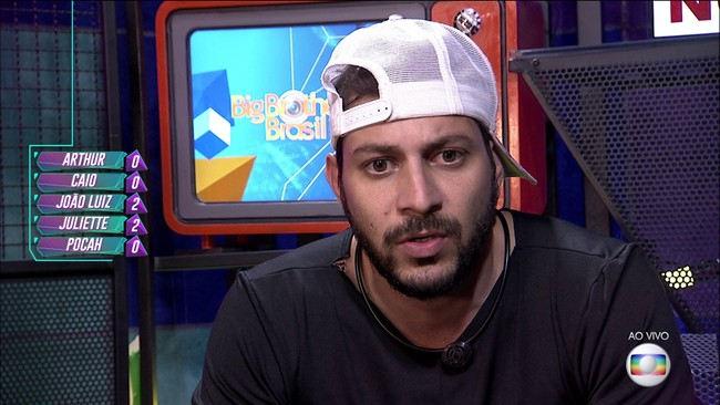 Décimo Segundo Paredão do BBB21: Caio vota em João Luiz e Juliette