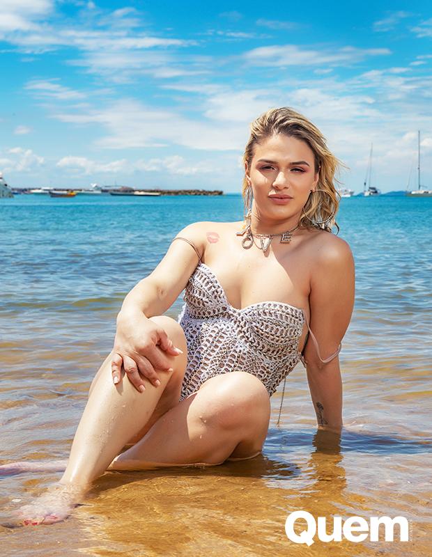 Glamour Garcia é a Capa da Semana da Quem (Foto: Ícaro Cerqueira/ Ed. Globo)