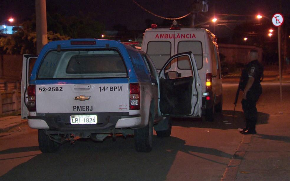 Criminosos interceptaram ambulância e executaram paciente (Foto: Reprodução / TV Globo)