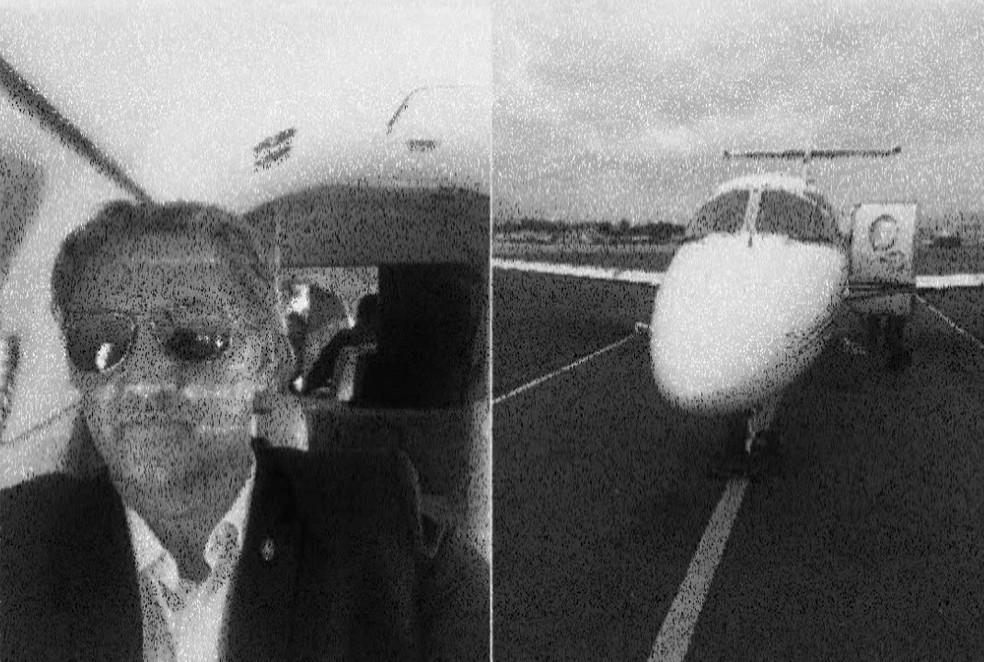 Advogado investigado na Operação Abismo teria alugado jatinho para empresa que recebeu dinheiro de fundos do Cabo — Foto: Reprodução/TV Globo