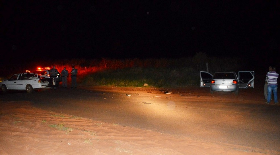 Acidente aconteceu na vicinal Kiujiro Marubayashi, na zona rural de Paraguaçu Paulista — Foto: Manoel Moreno/i7noticias