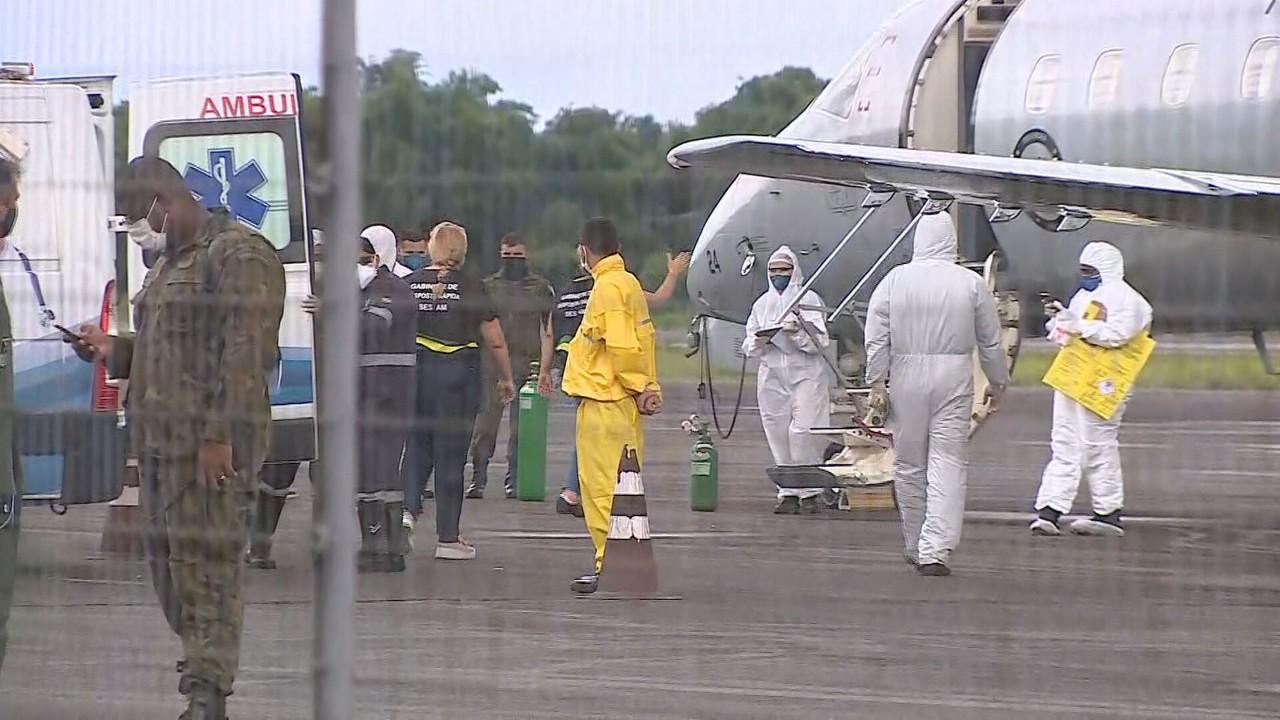 Amazonas já transferiu 77 pacientes com Covid-19 para outros estados