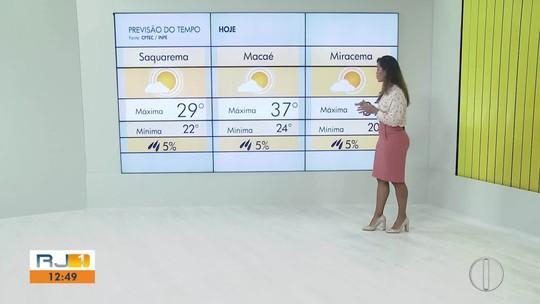 Confira a previsão do tempo para o interior do Rio