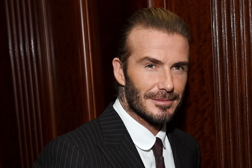 David Beckham, presidente embaixador do Conselho de Moda Britânico (Foto: Getty Images / Dimitrios Kambouris))