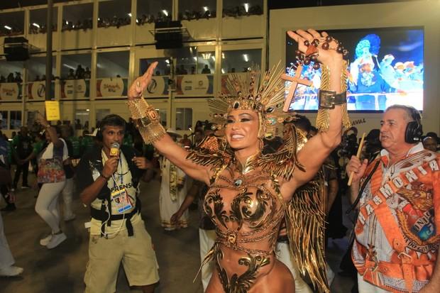 Gracyanne Barbosa (Foto: Sérgio Gallo/Ed. Globo)