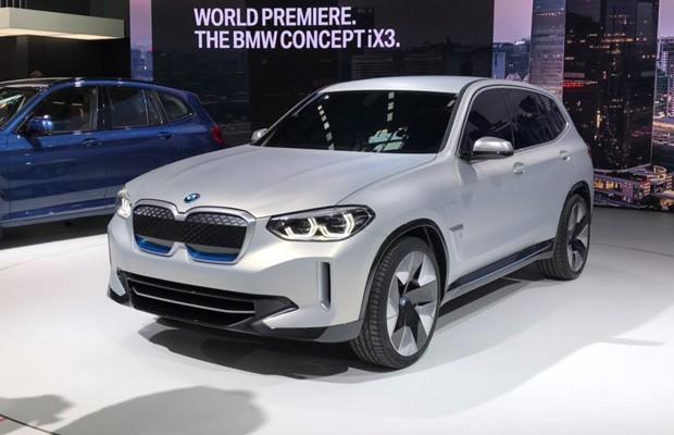 BMW ix3 é a versão elétrica do conhecido utilitário X3 (Foto: Gabriel Aguiar/Autoesporte)