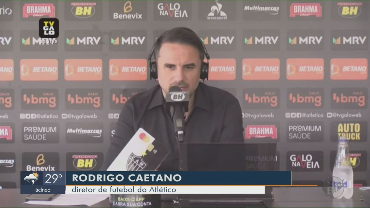 Ainda na procura de um treinador, Atlético apresenta Nacho Fernandez