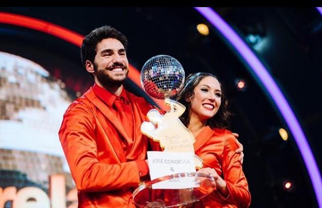 Ele foi o vencedor da atração ao lado de Ana Cardoso (Foto: Reprodução Instagram)