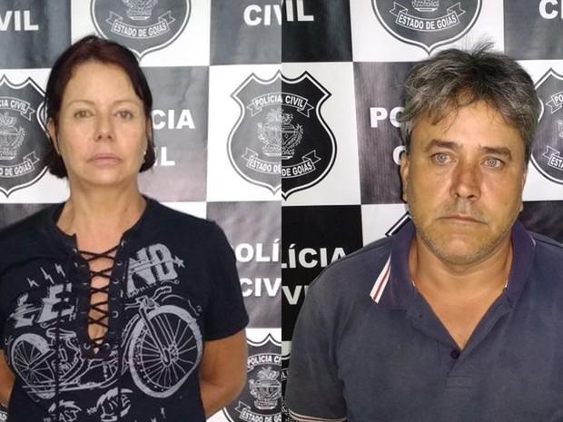 Casal é preso suspeito de aplicar golpes para conseguir empréstimo em Goiânia, Goiás (Foto: Divulgação/Polícia Civil)