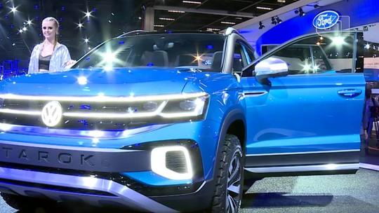Destaque no Salão do Automóvel, Volkswagen Tarok será picape 'anti-Toro'