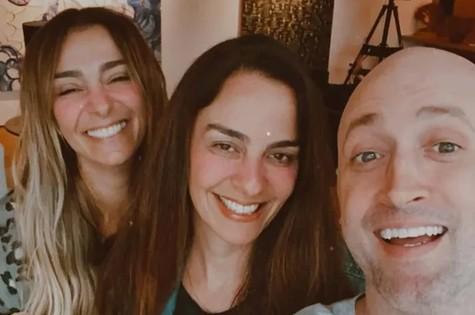 Monica Martelli, Susana Garcia e Paulo Gustavo (Foto: Monica Martelli)