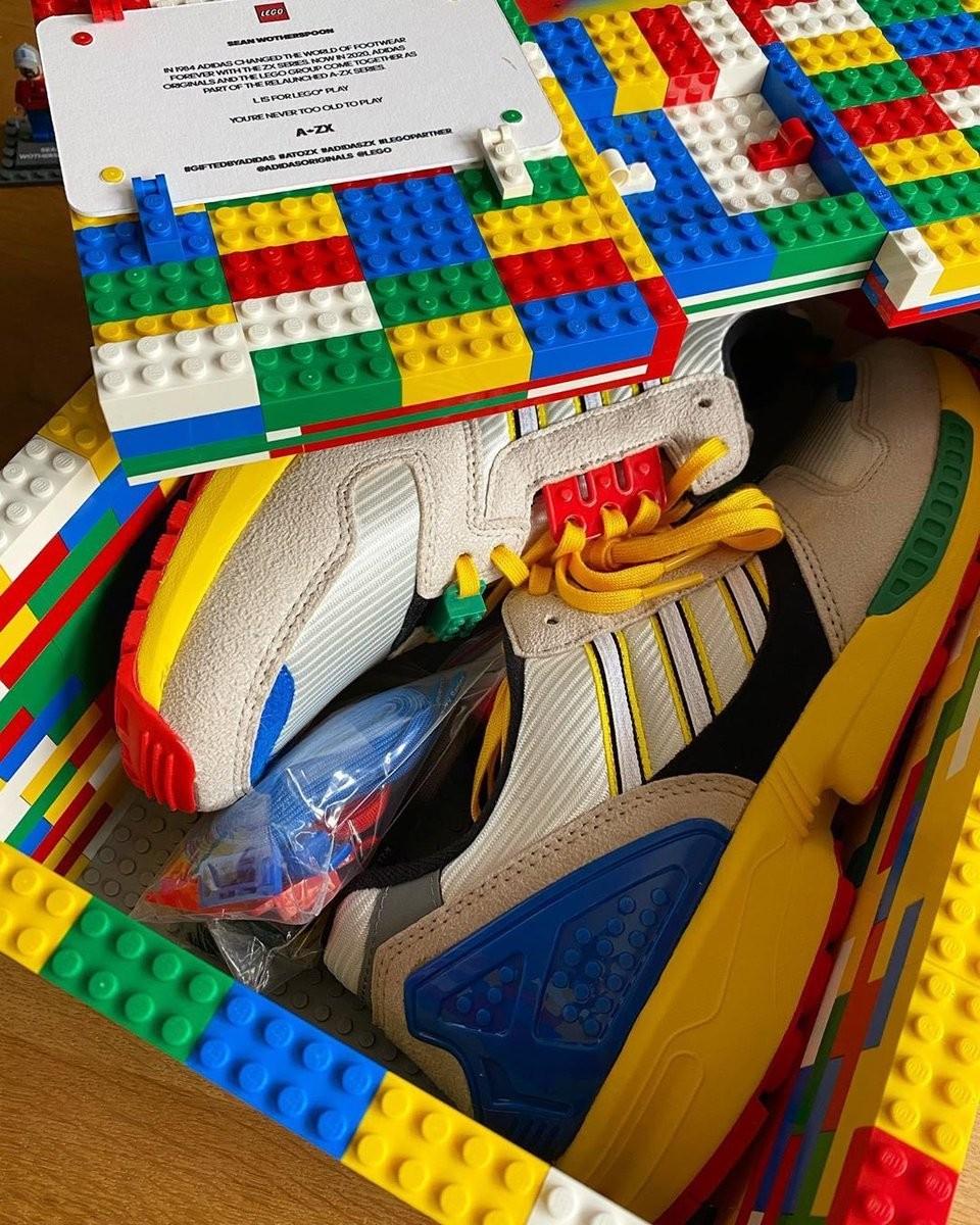 Adidas anuncia parceria com a LEGO em novo tênis (Foto: Sean Wotherspoon)