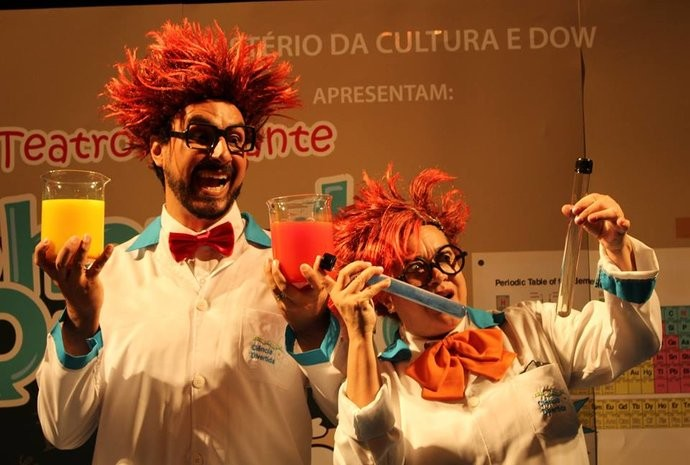 Peça infantil sobre o mundo da química terá 3 apresentações em SP