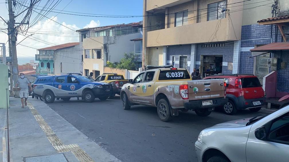 Operação foi deflagrada nas primeiras horas do dia 2 de dezembro de 2020 — Foto: Giana Mattiazzi/TV Bahia