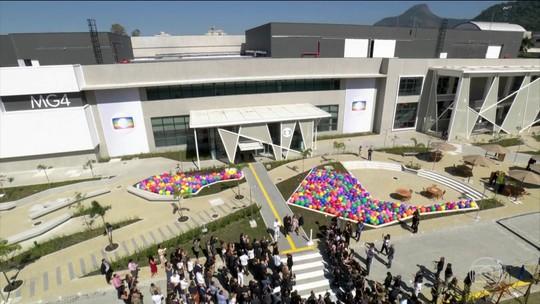 Inauguração do MG4 tem apresentação dos novos estúdios da Globo e debates sobre cultura, inovação e indústria criativa