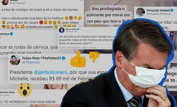Levantamento da consultoria Bites aponta que Bolsonaro foi alvo preferencial de memes no Twitter em 2020