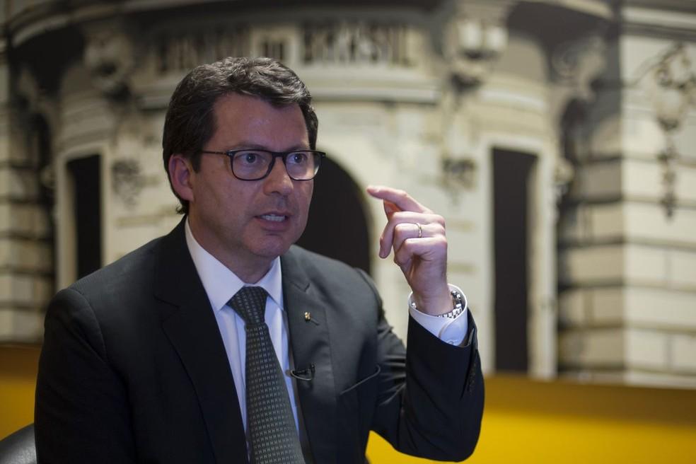 Presidente do Banco do Brasil, Paulo Caffarelli — Foto: Marcello Casal jr/Agência Brasil