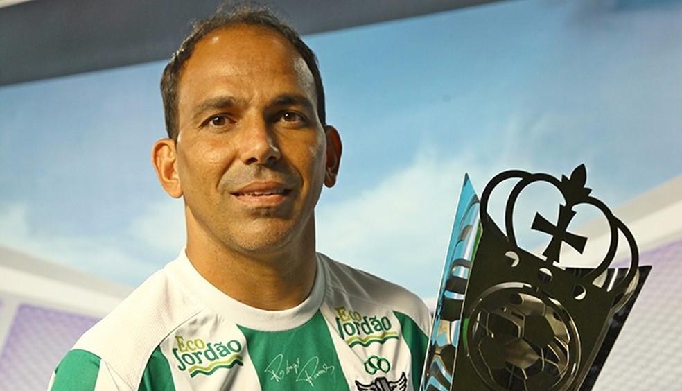 Rodrigo ramos acertou volta ao Moto Club (Foto: Biné Moraes / Jornal O Estado)