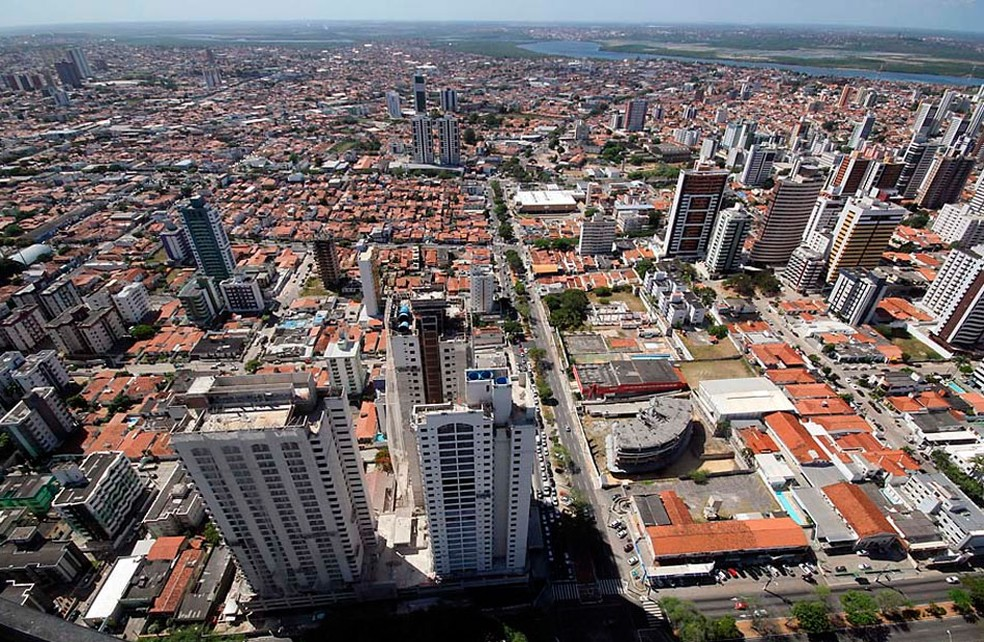 Percepção de tremor é maior em prédios mais altos — Foto: Canindé Soares