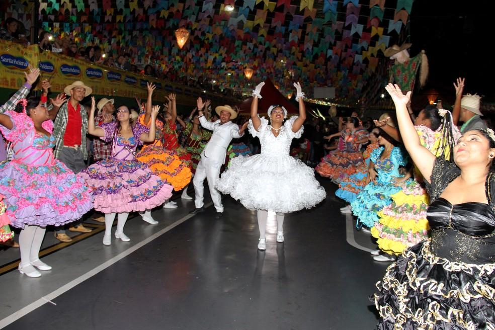 Festa Junina do Mercado Central é uma dos eventos que compõe a programação de festas juninas em Belo Horizonte   — Foto: Mercado Central/Divulgação