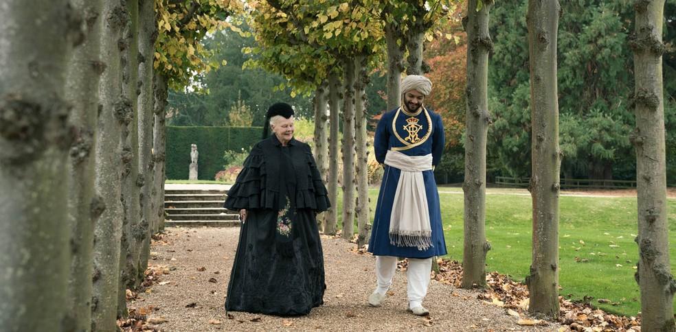 Cena de 'Victoria e Abdul - O confidente da rainha' (Foto: Divulgação)