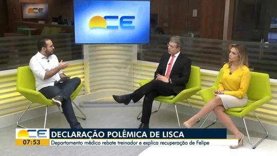 "Luiz Otávio afirma que Ceará tem ""totais chances de reverter"" contra o Fortaleza na final"