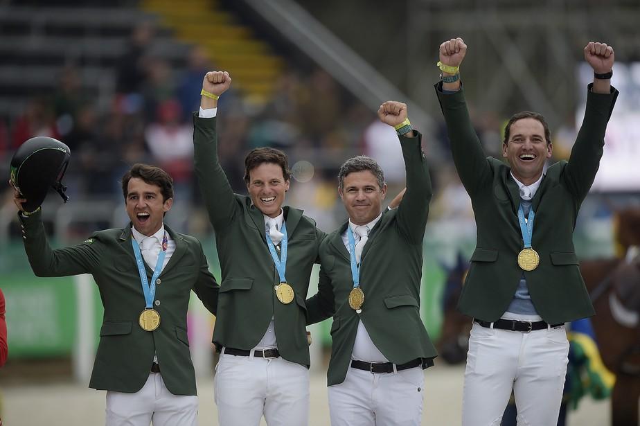 Brasil leva ouro no Pan de Lima no hipismo saltos e garante a vaga olímpica para Tóquio 2020