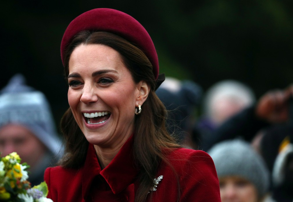 Kate Middleton  — Foto: Hannah McKay/Reuters
