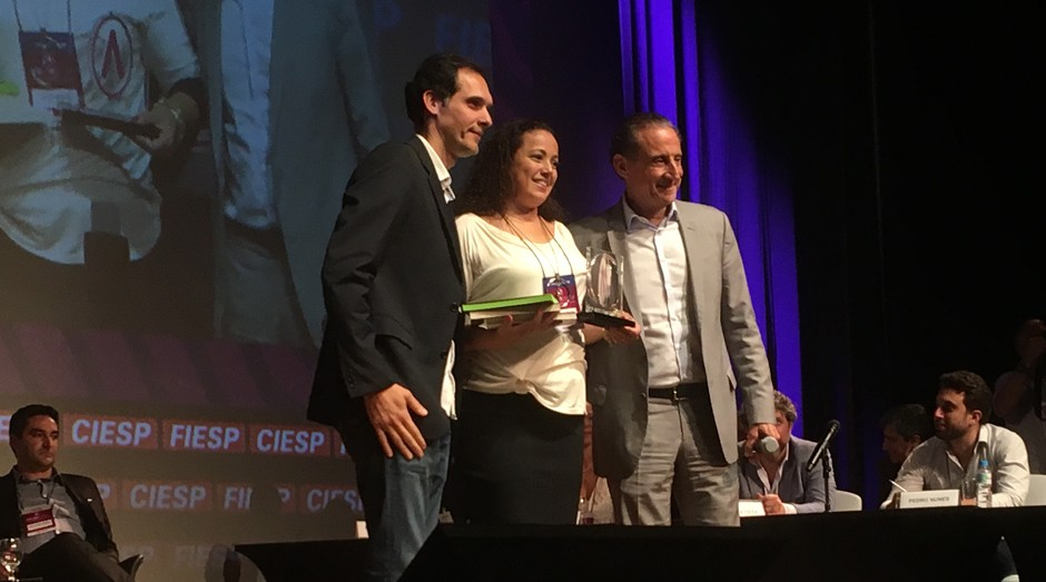 """Gláucia Mangia foi a vencedoria na categoria """"pré-operacional"""" (Foto: Editora Globo/Carina Brito)"""