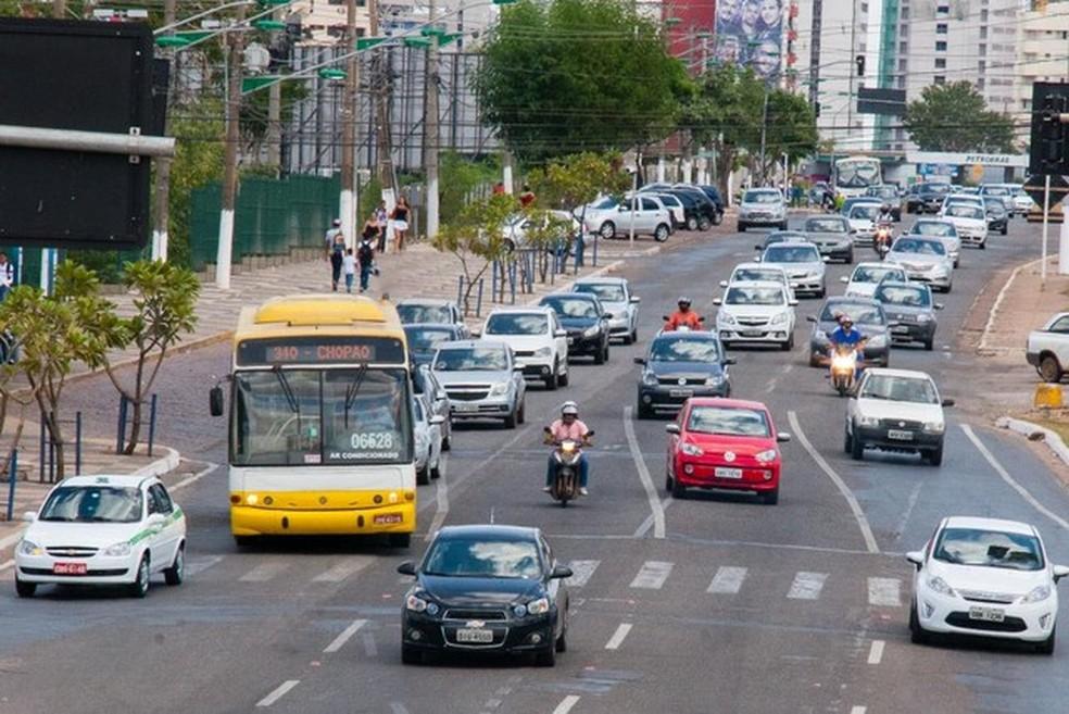 Projeto de Lei visa impedir a apreensão de veículos por indimplência em IPVA ou multas em MT — Foto: Gcom/MT