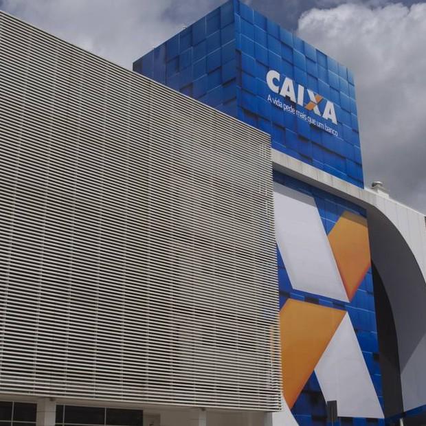 Sede da Caixa Econômica Federal em Brasília (Foto: Michel Filho/Agência O Globo)