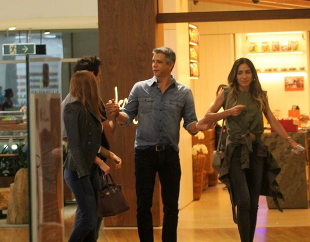 Marina Ruy Barbosa, Xande Negrão, Márcio Garcia e Andrea Santa Rosa (Foto: AgNews)