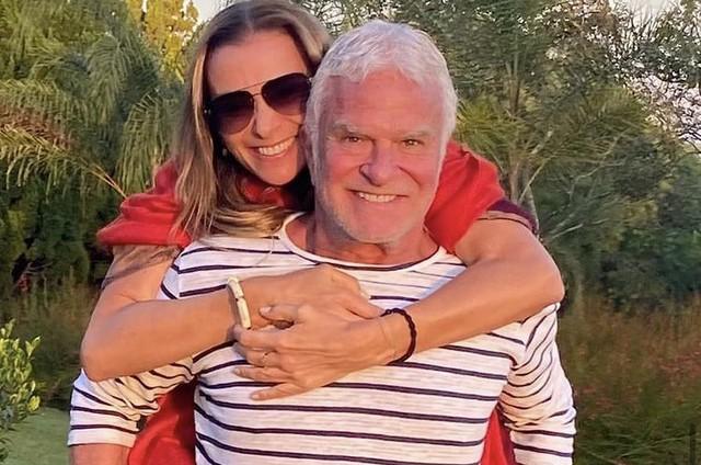 Mônica Martelli e o namorado, Fernando Altério (Foto: Reprodução)