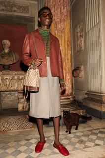 Gucci Men's Cruise 2020 lookbook (Creative Director: Alessandro Michele / Art Director: Christopher Simmonds / Photographer: Yorgos Lanthimos / Hair Stylist: Alex Brownsell / Make Up: Thomas De Kluyver)