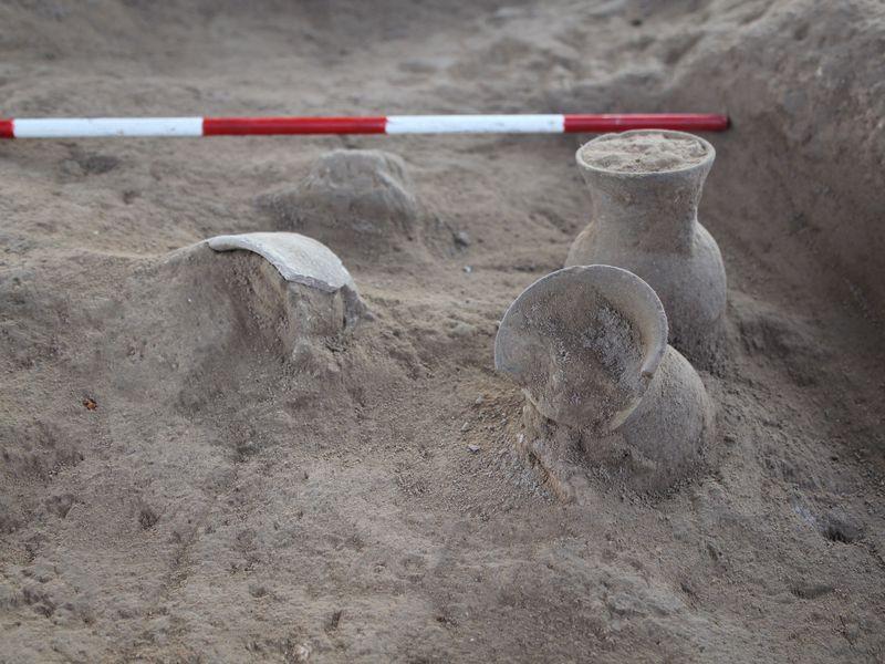Potes antigos escavados no Iraque continham resquícios de cerveja  (Foto: Courtesy Sirwan Regional Project)