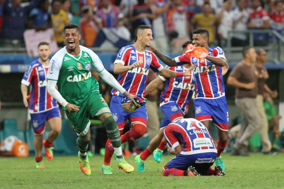Com vitória sobre o Sport, Bahia foi campeão do Nordestão após 15 anos (Foto: Marlon Costa / Pernambuco Press)