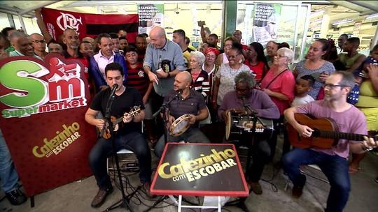 Cafezinho com Escobar tem até sugestão de Falabella para técnico do Vasco