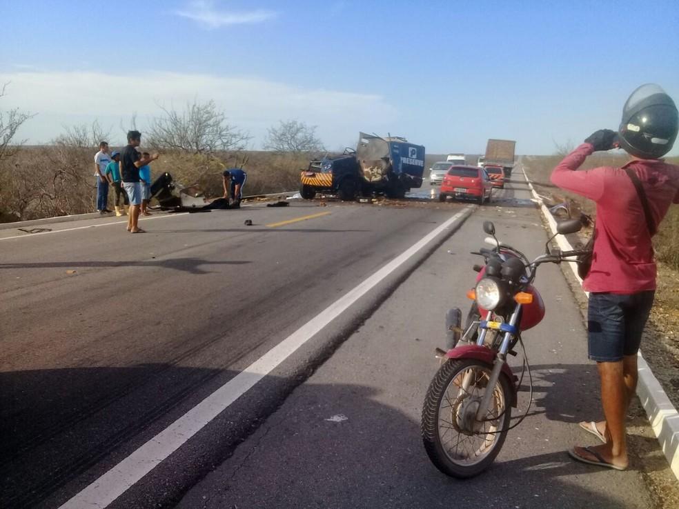 O crime aconteceu nesta segunda-feira (9) (Foto: Divulgação )