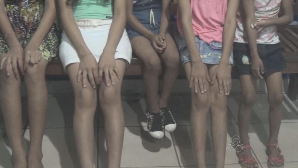 Meninas, à época do crime, tinham idades entre 5 a 14 anos (Foto: Reprodução/Rede Amazônica)