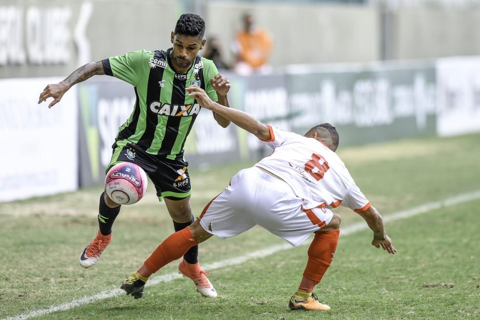 América-MG derrotou time misto do Boa Esporte na 1ª fase (Foto: Mourão Panda)